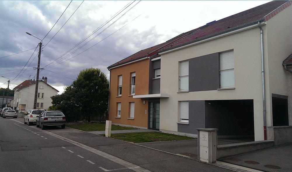 Résidence Les Vergers réalisation par le Groupe C&C Immobilier
